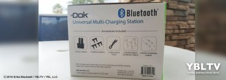 YBLTV Erika Blackwell Review: Dok Solution LLC.: CR33 5 Port Smart Phone Charger with Bluetooth Speaker and Speaker Phone.