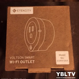 ETEKCITY Voltson Mini Smart Wi-Fi Outlet Switch Plug. Image Source: Kim Rose, YBLTV Photographer / Writer / Reviewer Assistant.