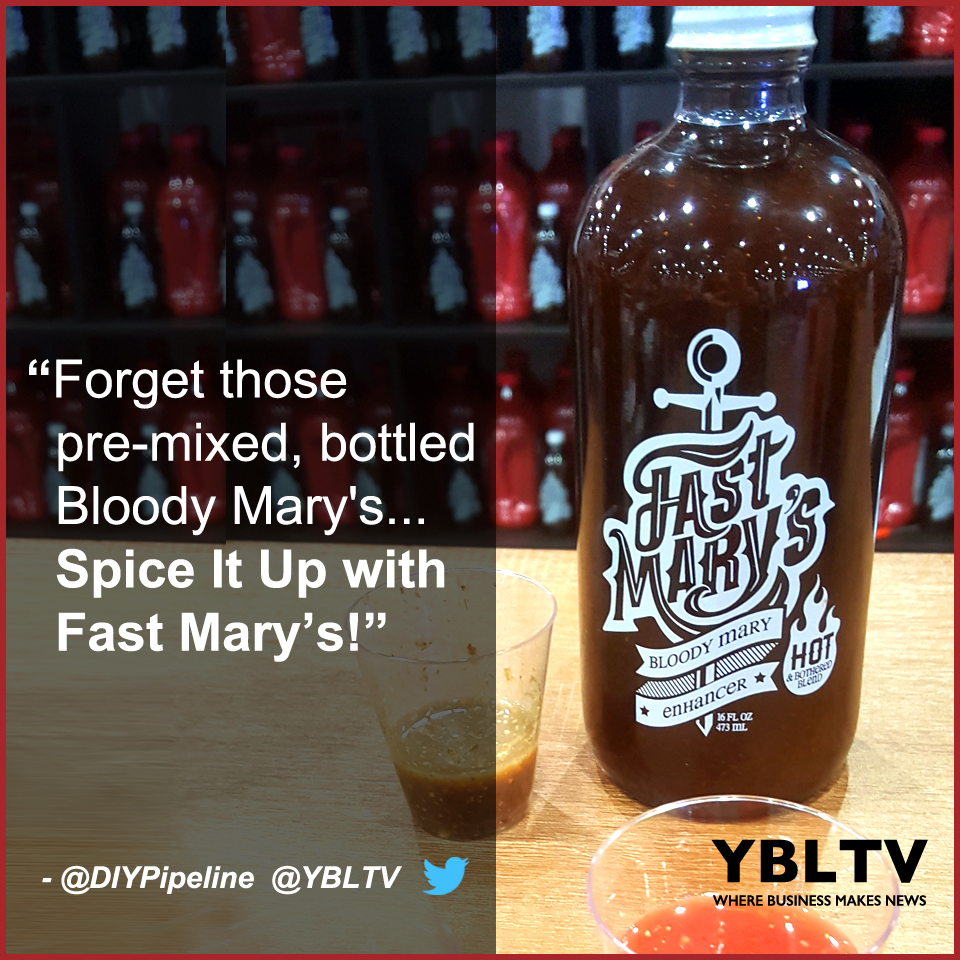 Forget those pre-mixed, bottled Bloody Mary's... Spice It Up with Fast Mary's! YBLTV Review by DIY Pipeline.