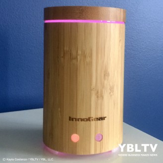 YBLTV Giveaway: InnoGear Real Bamboo Essential Oil Diffuser. Review by Kayla Costanzo, YBLTV Writer / Reviewer.