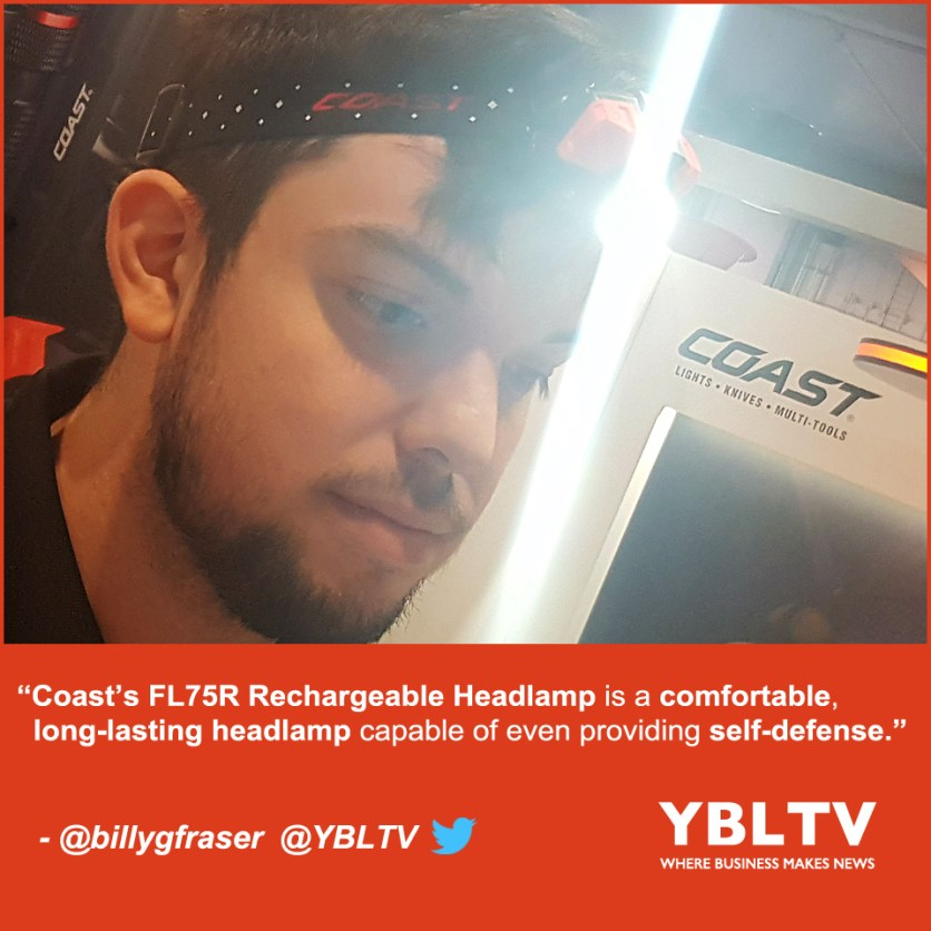 YBLTV Review by William Fraser: Illuminate the Unknown with the Coast Rechargeable FL75R Headlamp