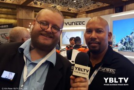YBLTV Writer / Reviewer, Jack X interviews Yuneec USA, Inc.'s, Territory Manager, Kevin Jones at InterDrone 2017.