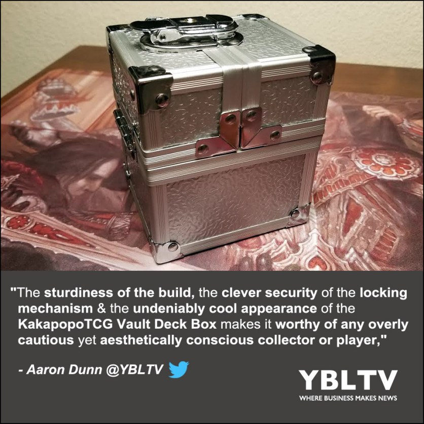 KakapopoTCG: The Vault. YBLTV Review by Aaron Dunn.