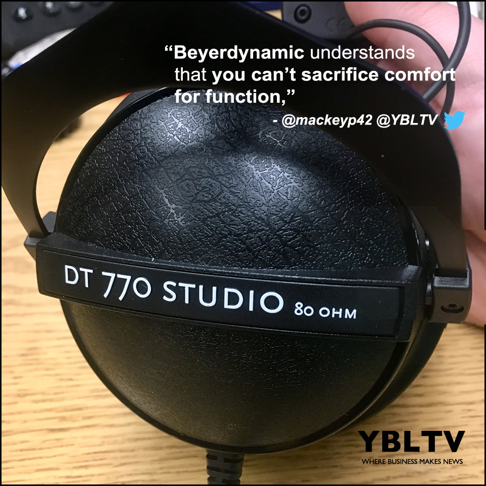 beyerdynamic DT770 Studio Edition Headphones. YBLTV Review by Patrick Mackey.