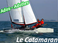 stage voile catamaran