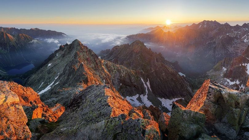 The High Tatras range is home to hundreds of kilometres of hiking trails (Credit: Credit: TomasSereda/Getty Images)
