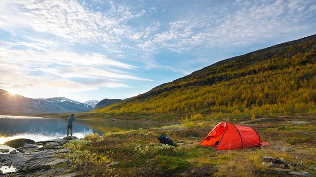Ninety-seven percent of Sweden is uninhabited and very few trails or beaches are private (Credit: Credit: Johner Images/Getty Images)