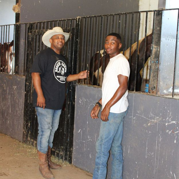 Murdock's stable is beloved by Chicago's black cowboys, many of whom compete in local and national rodeos (Credit: Amy Bizzarri)