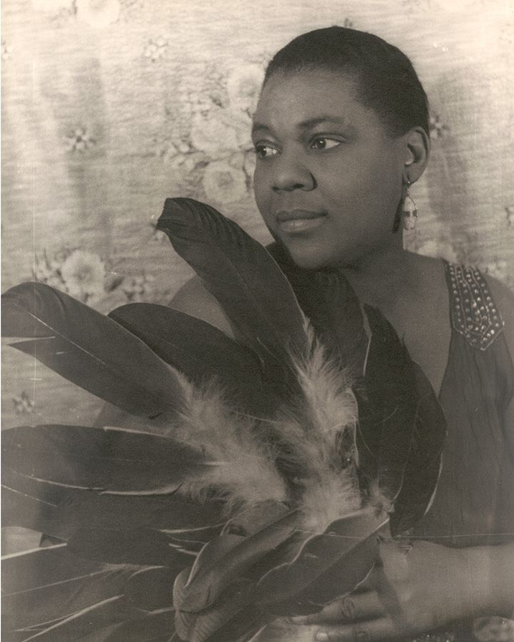 """The scholar Angela Davis calls Bessie Smith """"the first real 'superstar' in African-American popular culture"""" (Credit: Getty Images)"""