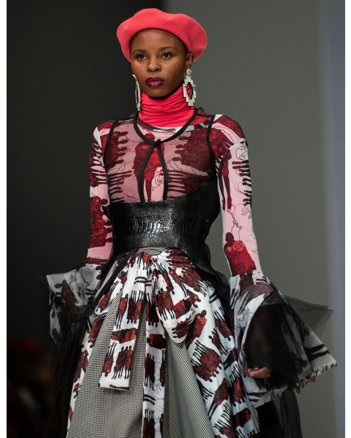 The work of designer Palesa Mokubung is among the costumes seen in Coming 2 America (Getty Images)