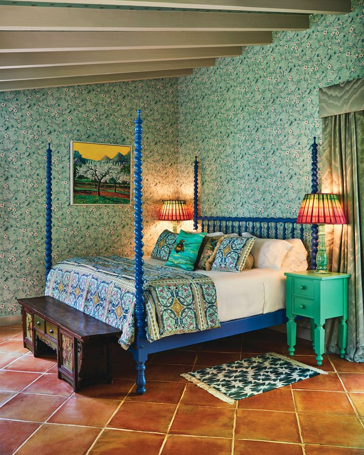 'Joyful maximalism' is how fashion-and-interiors designer Matthew Williamson describes his aesthetic (Credit: Matthew Williamson for Belmond la Resindencia)