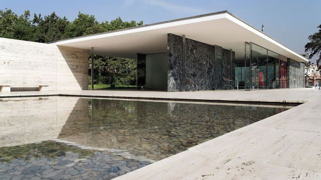 Image result for Barcelona Pavilion, Spain, 1929