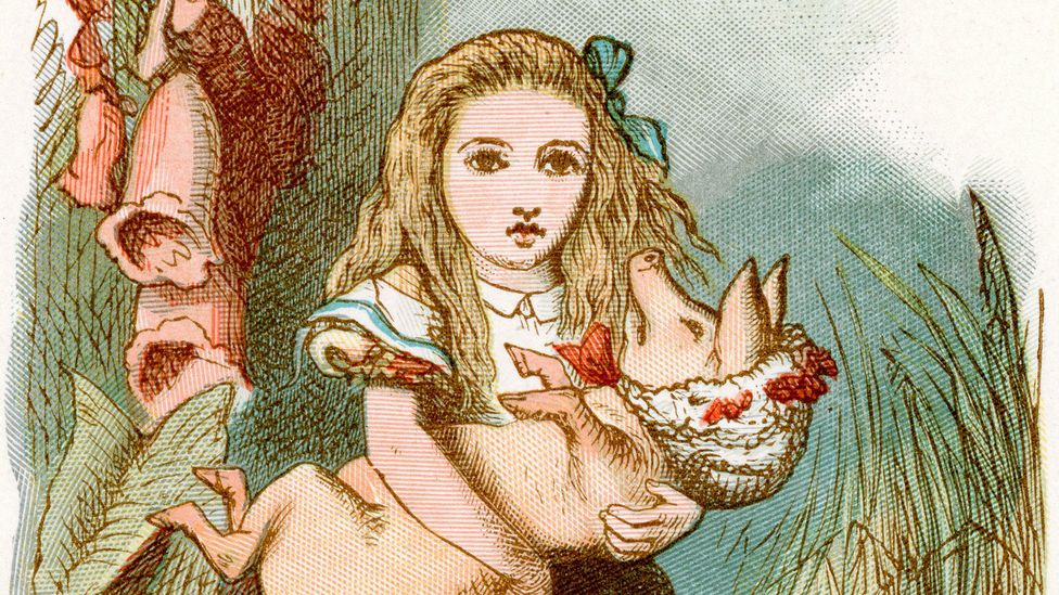 Lewis Carroll's behaviour around young children has been questioned and scrutinised in recent years (Credit: Alamy)