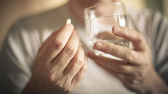 There tends to be more substance and alcohol use among men, which can be a dangerous attempt to 'self-medicate' (Credit: Getty)
