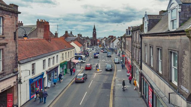 The English town was once one of the biggest ports in Britain and an important economic anchor for Scotland (Credit: Credit: jiGoGo/Travel/Alamy)