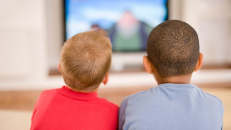 Watching the right kind of programmes can have a beneficial affect on children over the age of two years old (Credit: Science Photo Library)