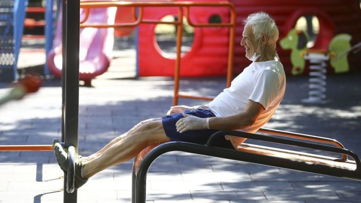 Despite the focus on pharmaceutical solutions for ageing, some of the best strategies include daily habits like exercise (Credit: Halil Sagirkava/Getty Images)