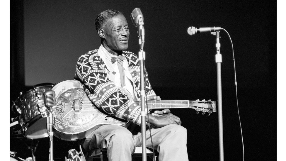 """The early blues women were sidelined by the """"Blues Mafia"""" who championed Delta blues singers such as Robert Johnson, Skip James and Son House [pictured] (Credit: Getty Images)"""