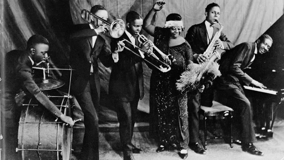 """Gertrude """"Ma"""" Rainey was one of several black women who dominated the classic blues – African-American culture's first mainstream breakthrough (Credit: Getty Images)"""