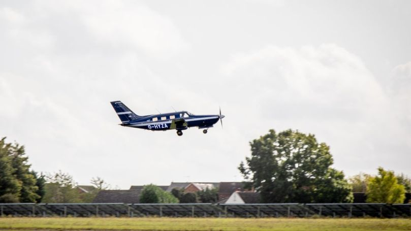 HyFlyer I is a six-seater plane, but its successor is planned to seat up to 20 passengers (Credit: ZeroAvia)