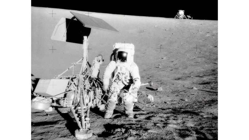 Like the Surveyor III spacecraft, Surveyor II was intended to land on the Moon – but the latter was lost in space shortly after takeoff (Credit: Alamy)