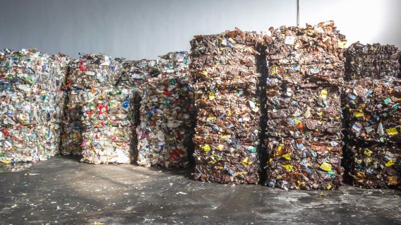Chemical recycling begins the same way as ordinary mechanical recycling, with collecting and crushing plastics and taking them to a plant (Credit: Alamy)