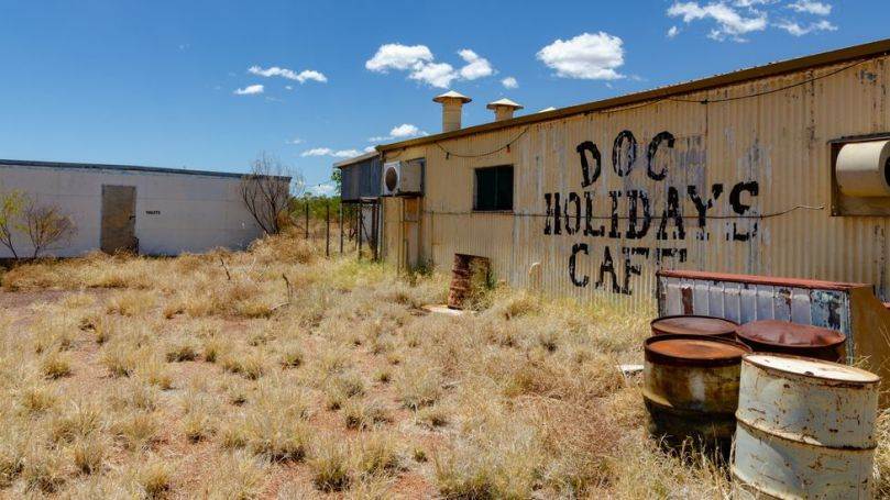 The abandoned asbestos mining town of Wittenoom in Western Australia does not appear on any maps, to discourage visitors (Credit: Alamy)