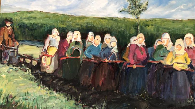 The Doukhobors were known for their strong work ethic and communal non-materialistic lifestyle (Credit: Brendan Sainsbury)