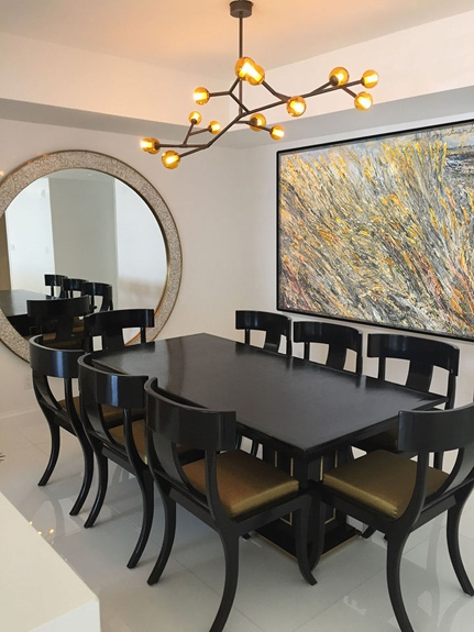 2 Jupiter Island modern dining room