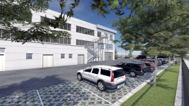 New building - parking