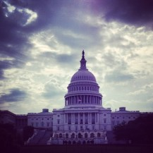 First day in DC: The Capitol Building...