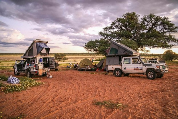 Overlanding off the grid