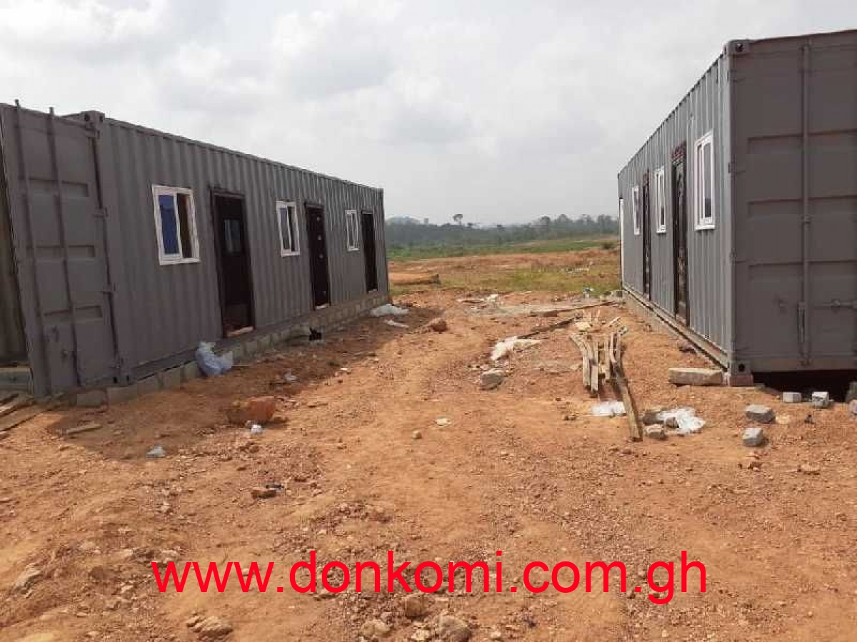 Fabrication Works On Containers