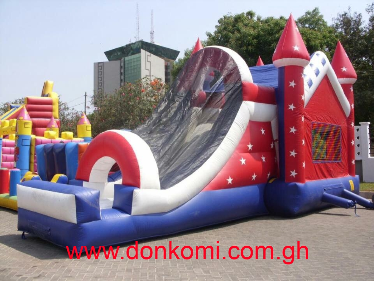 bouncy castle and party stuff for rent