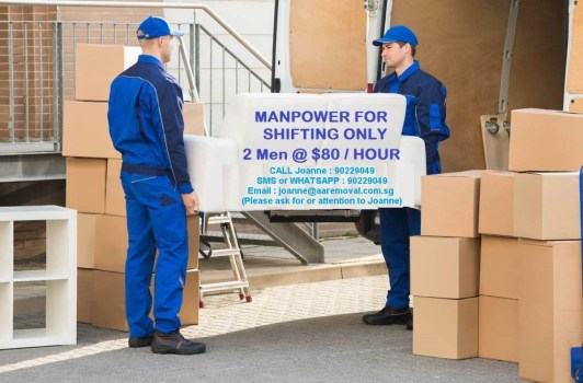 2 Friendly and Professional Movers For Your Moving Manpower Services