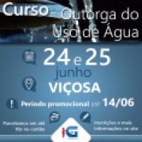 Curso de Outorga do Uso de Água - Viçosa (MG)