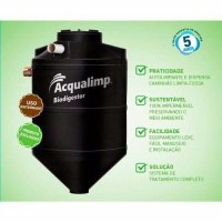 Fossa Biodigestora 1300L - Acqualimp