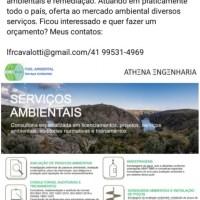 Serviços ambientais Athena Engenharia