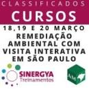 CURSO DE REMEDIAÇÃO AMBIENTAL COM VISITA INTERATIVA EM SÃO PAULO - PRESENCIAL
