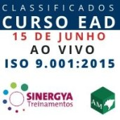 CURSO DE SISTEMA DE GESTÃO DA QUALIDADE ISO 9.001:2015