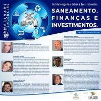 WEBINAR SANEAMENTO, FINANÇAS E INVESTIMENTOS - SÉRIE TENDÊNCIAS IAUB