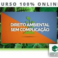 CURSO DE DIREITO AMBIENTAL SEM COMPLICAÇÃO