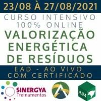 CURSO SOBRE A VALORIZAÇÃO ENERGÉTICA DE RESÍDUOS NO BRASIL, AO VIVO, EM TEMPO REAL