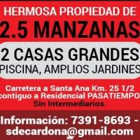 HERMOSA PROPIEDAD 2.5 MANZANAS