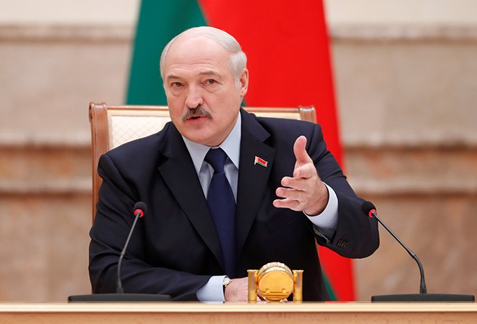 Belarus requested legal assistance from the United States in the event of an insurgency in Belarus