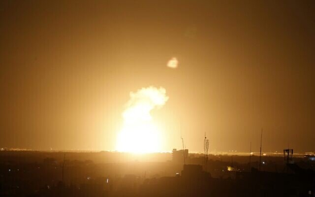 Armed forces in the Gaza Strip fired rockets at Israel, saying three people were killed in the attack