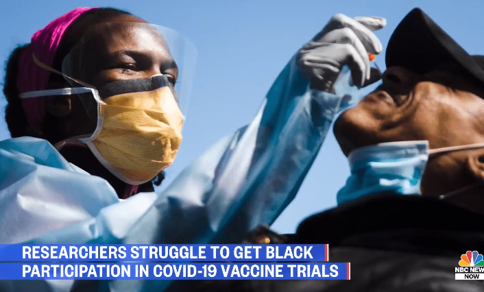 U.S. poll: Even if the vaccine is provided free of charge only 48% of African descent are willing to be vaccinated