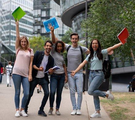 It is the U.S. economy that hurts international students sharply