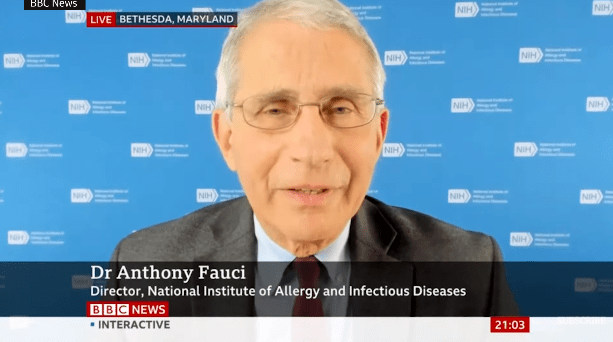 Fauci BBC to apologize for questioning that the UK's approval of the vaccine was too hasty to provoke criticism.