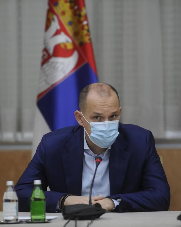 Serbian Health Minister Ronchar will be the first person to be vaccinated by Chinese Vaccine